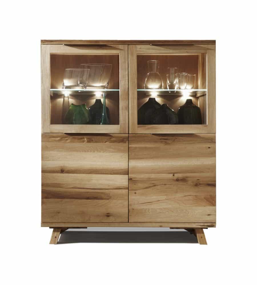 highboard ranch wildeiche massiv. Black Bedroom Furniture Sets. Home Design Ideas