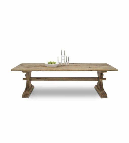 Esstisch LEGIO - rustikaler Holztisch aus Wildeiche