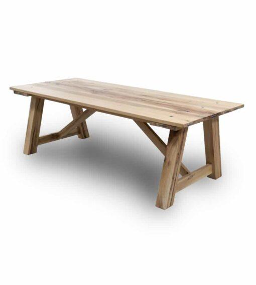 Massivholz Esstisch Ranch- Holztisch aus Wildeiche