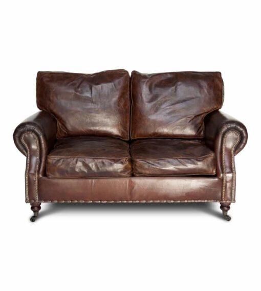 Chesterfield Sofa WESTMINSTER - Vintage Sofa im klassisch, englischen Chesterfield-Stil. 2-Sitzer