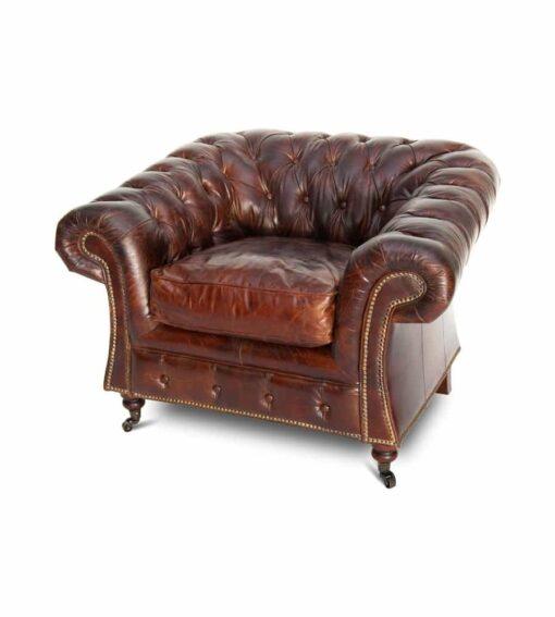 ChesterfieldChesterfield Sessel Burlington - Vintage Sessel aus Leder