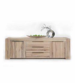 Massivholz Sideboard BRIMIR - Skandinavisches Design zum Wohlfühlen.