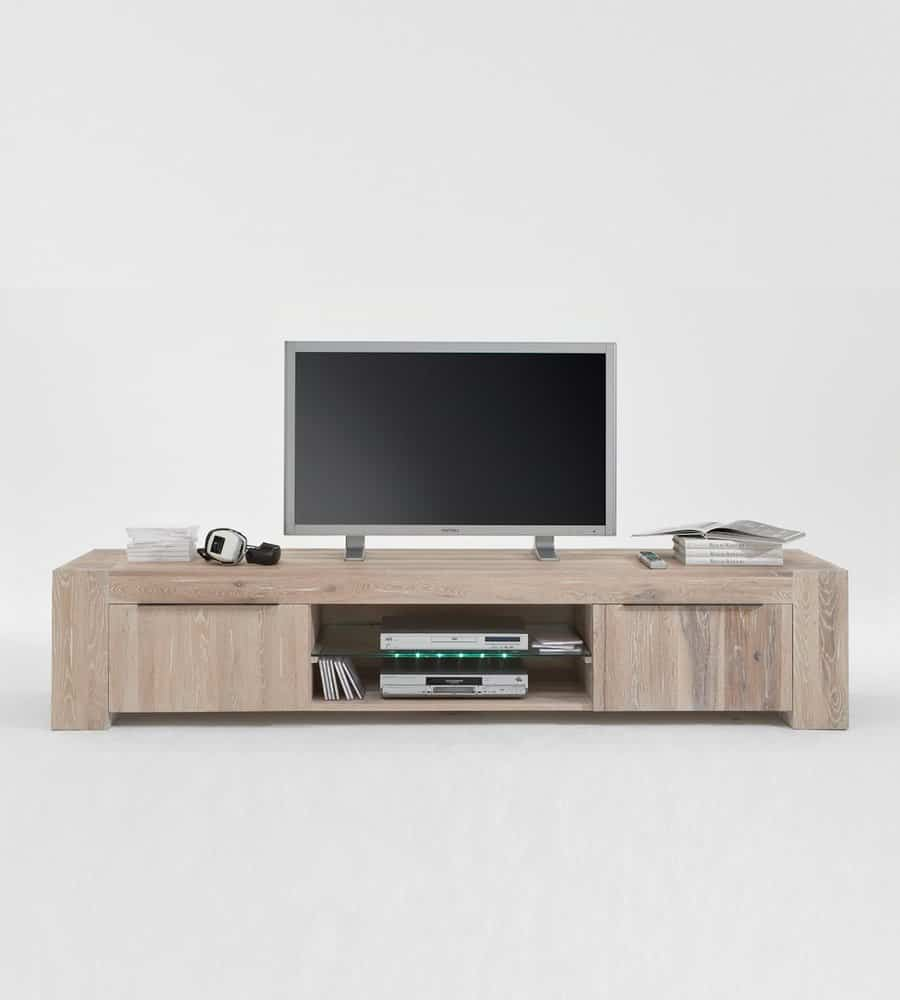 tv lowboard brimir im skandi look aus wildeiche. Black Bedroom Furniture Sets. Home Design Ideas
