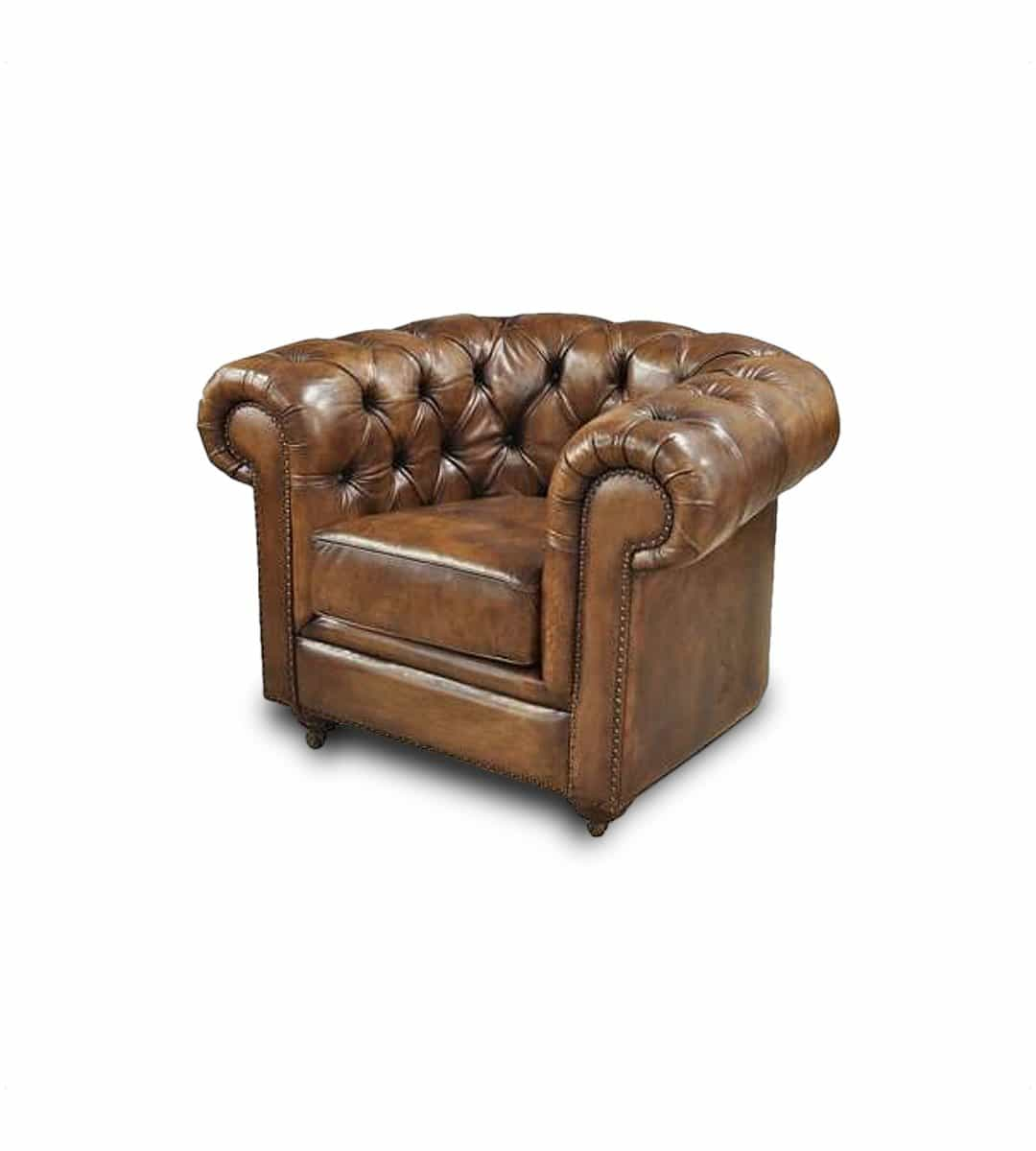 chesterfield sessel rochester b ffelleder. Black Bedroom Furniture Sets. Home Design Ideas
