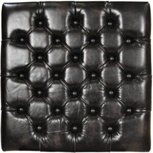 Büffelleder Vintage Schwarz