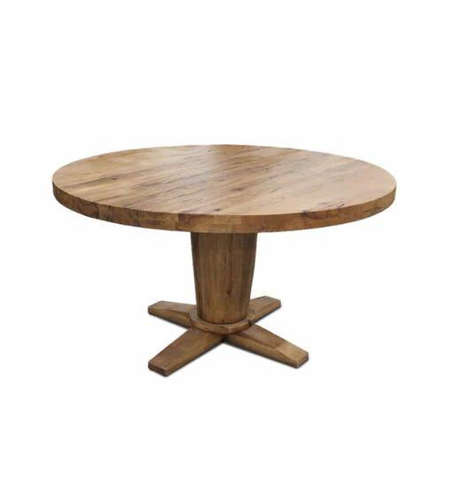 Tisch DISCUS runder Esstisch aus Holz.