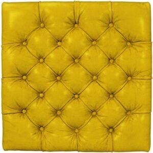 Büffelleder Vintage Gelb