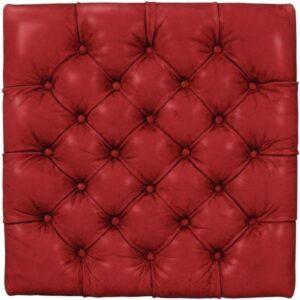 Büffelleder Vintage Rot