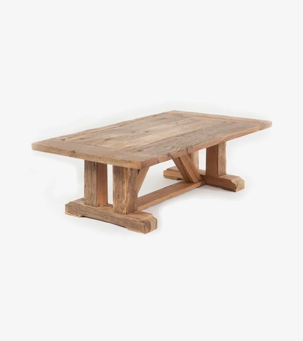 couchtisch salaj aus altholz eiche recycelt. Black Bedroom Furniture Sets. Home Design Ideas