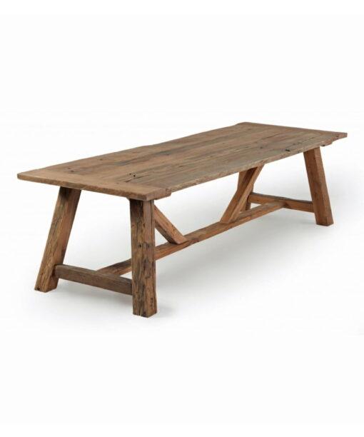 Esstisch SOFIA - Massivholztisch aus jahrhundertealter, recycelter Eiche