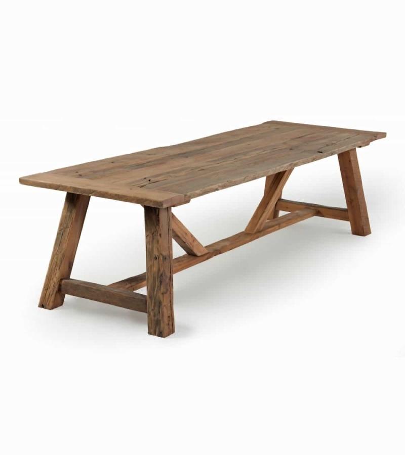 Esstisch sofia aus altholz eiche recycelt for Esstisch altholz