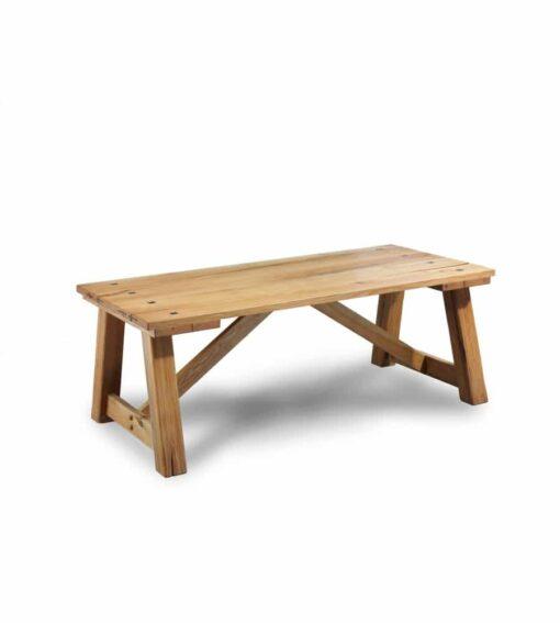 Massivholz Esstisch CHÂTEAU aus Sumpfeiche oder Wildeiche