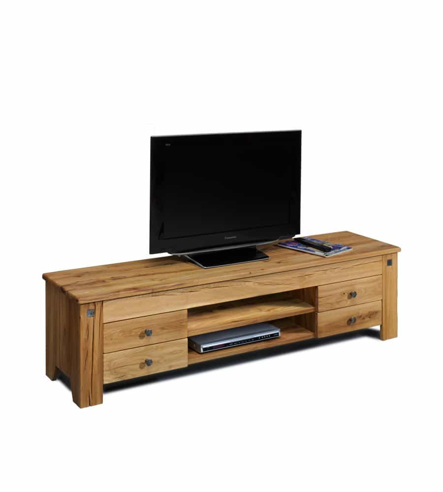 lowboard ch teau tv m bel aus sumpfeiche. Black Bedroom Furniture Sets. Home Design Ideas