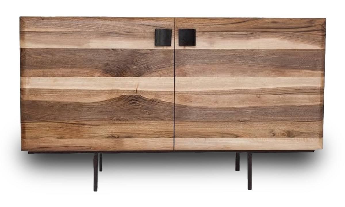 sideboard infinity in nussbaum oder sumpfeiche. Black Bedroom Furniture Sets. Home Design Ideas