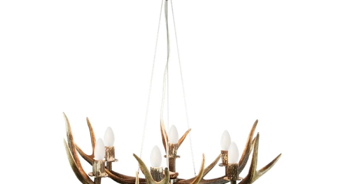 Kronleuchter Geweih ~ Geweihleuchter laax flammiger leuchter aus geweih wohnhirsch