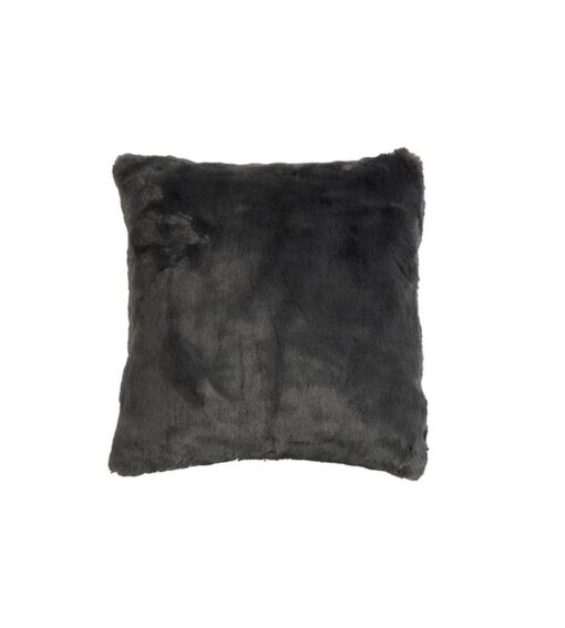 Webpelz Kissen Furry slate-grey