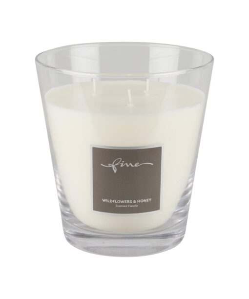 Duftkerze von Fine aus der Scented Candles Kollektion im Duft Wildflowers and Honey