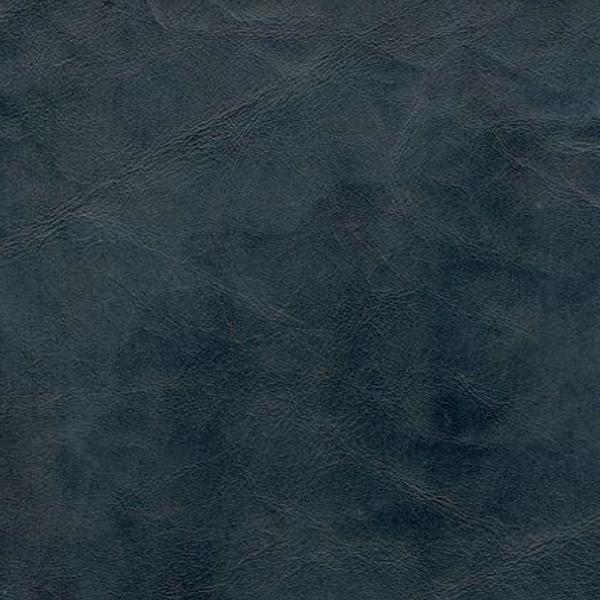 handgefärbtes vintage Büffelleder blau