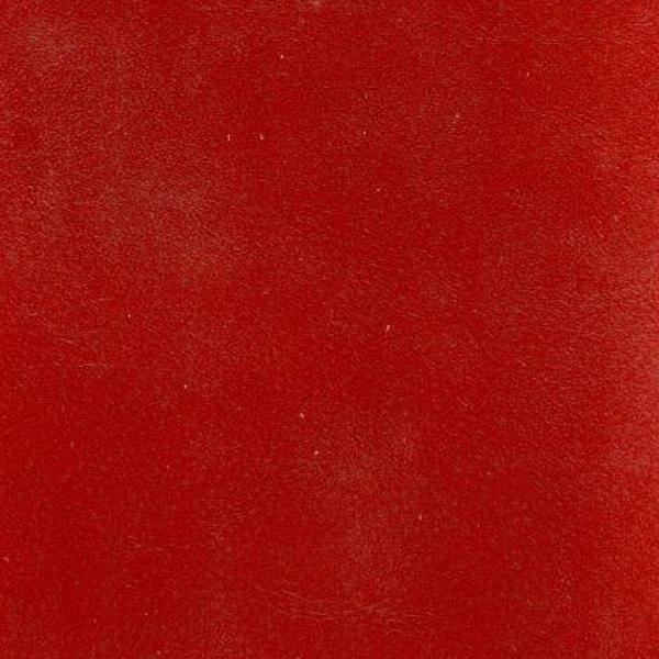handgefärbtes vintage Büffelleder rot