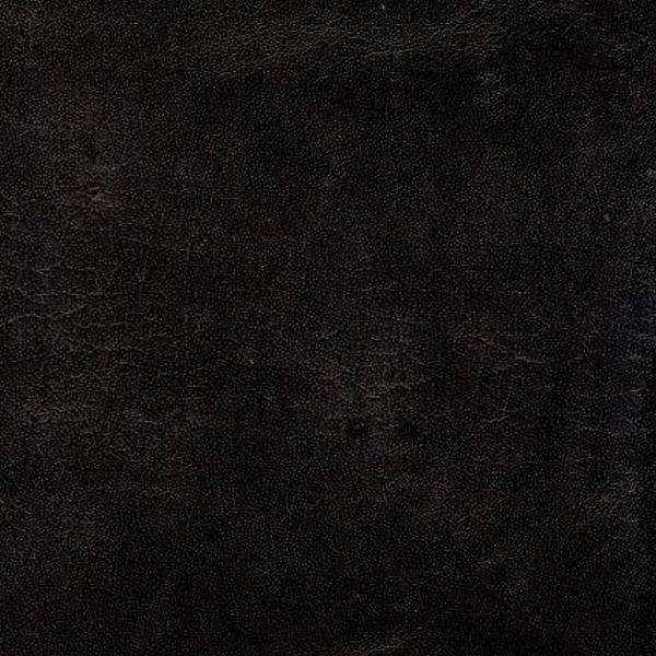 handgefärbtes vintage Büffelleder schwarz