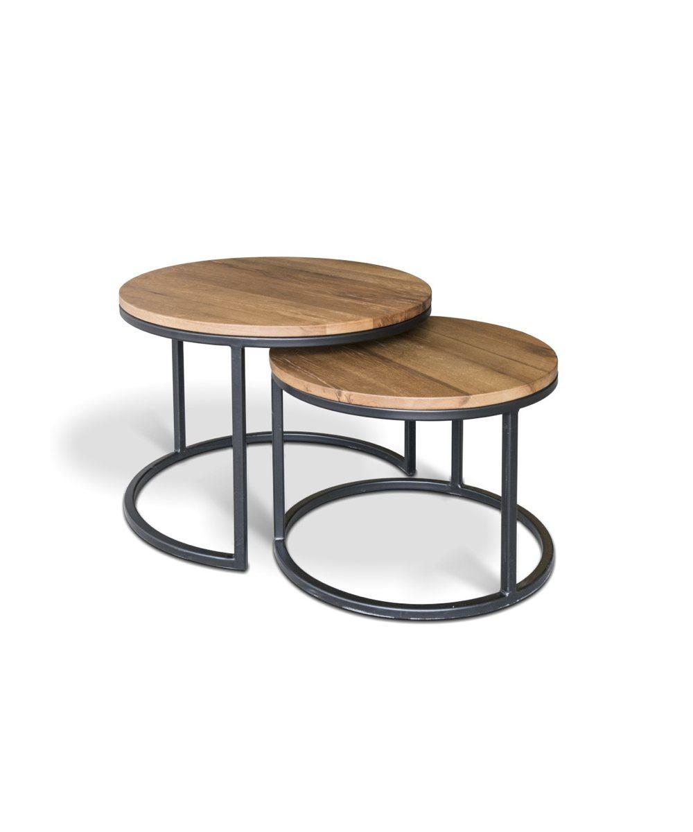 couchtisch lodge 2 teilig. Black Bedroom Furniture Sets. Home Design Ideas