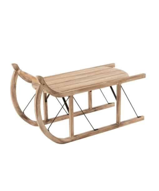 Deko-Schlitten Nik aus Holz